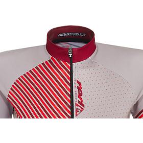 Red Cycling Products Mountain Maglietta a Maniche Corte Donna, bianco/rosso